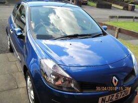Rare 2008 Very Low Milage Renault Clio 1.6 VVT Dynamique 3d Auto (AC) with Quickshift Gearbox