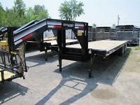 2015 CornPro 25' - 10 TON EQUIPMENT TRAILER Golden