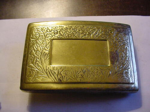 Belt Buckle with Hidden Compartment YOU RESTORE