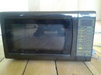 Microwave Panasonic 900w Brown