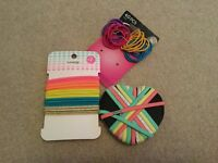 Selection of hair bands hair accessories New
