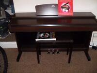 yamaha ydp digital piano 88 weighted keys .