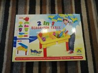 NEW unopened sand and water table