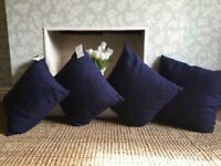"""M&S set of 4 cushion cushions 9/9"""" ALL BRAND NEW WITH TAGS"""