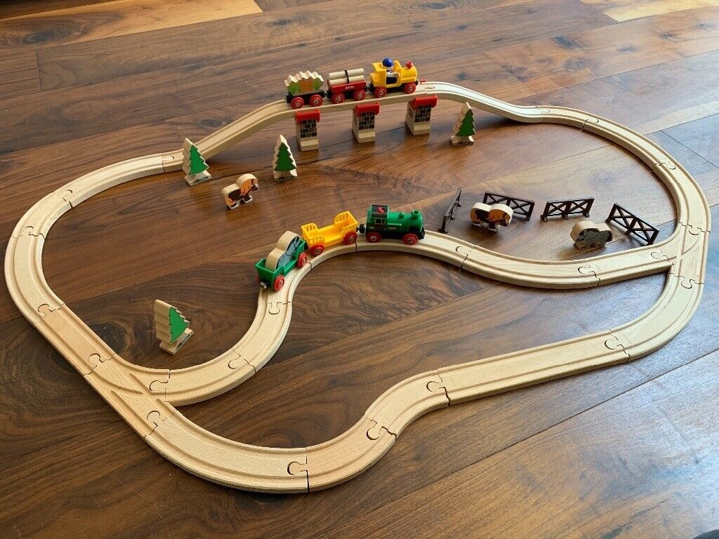 Huge Brio Wooden Train Set Accessories And Trains In Brighton East Sussex Gumtree