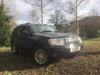 2000 X reg Jeep Grand Cherokee Limited 4.0 Petrol **Cruise Control, Heated Leather**