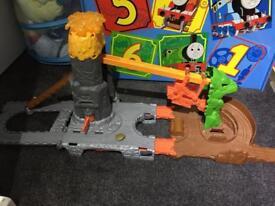 Thomas The Tank take and play dragon drop