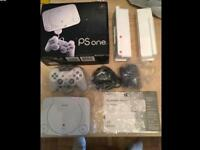Sony PS One mini. In original box and all contents bagged
