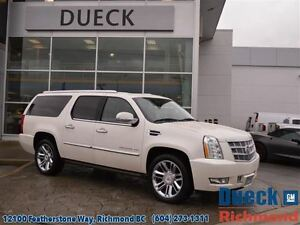 2013 Cadillac Escalade ESV Platinum  Sunroof, Rear Camera, Heate