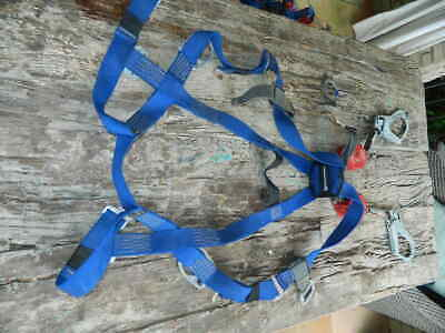Miller Welder Harness W Twin Turbo Lite Fall Limiters With Lanyard