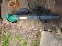 Leaf blower hoover