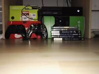 Xbox One 2 controllers 6 games