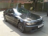 BMW 320CI 2.2 M SPORT MANUAL 2005 UPGRADED ALLOY WHEELS LEATHER INTERIOR SERVICE HISTORY