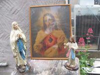 4 VINTAGE RELIGIOUS ITEMS