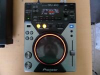 Pioneer CDJ-400 Professional CD Player/Deck with USB - Full Working Order