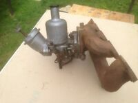 Carburretor and inlet/exhaust Manifold