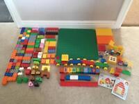Lego Duplo bundle with base plate