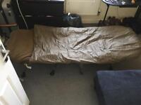 Bedchair and Sleeping bag