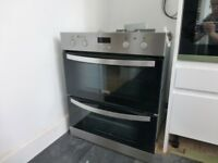 Zanussi Build Under Double Oven - Under 2 years old