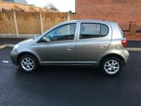 2005 Toyota Yaris 1.0 VVT-i manual 5doors 3keys silver 50k miles