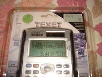 NEW TEXET Albert Easy View Scientific Calculator (Albert EV-S)