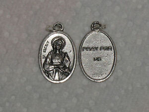 Saint cecilia christianity ebay saint st ceciliacecily medal charm mozeypictures Choice Image