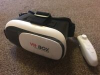 ONLY £20!!! 3D VR SET WITH REMOTE.