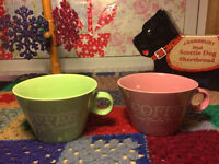Clearance of coffee tea mugs, starting from GBP 3 onwards, some are new some are used