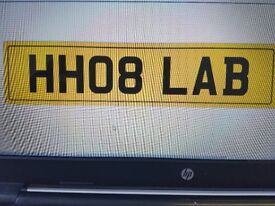 Cherished Number Plate HH08 LAB