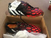 Mens Adidas Predator FG football boots, boxed & new
