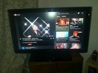 SAMSUNG HDMI 42 INCH TV. Android box and matching stand (Please read for more info). OPEN TO OFFERS