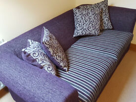 Newly Upholstered SOFA ** With Cushions **