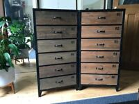 ONLY ONE LEFT!!! Industrial Chest of Drawers - £125 ONO
