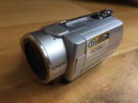 Sony DCR-SR190 video camera