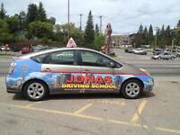 JONAS DRIVING SCHOOL /DRIVING LESSONS . CALGARY DRIVING S 25%off