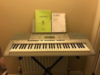 Casio CTK-4000 electric keyboard with stand