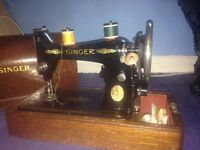 Vintage 1920's singer sewing machine