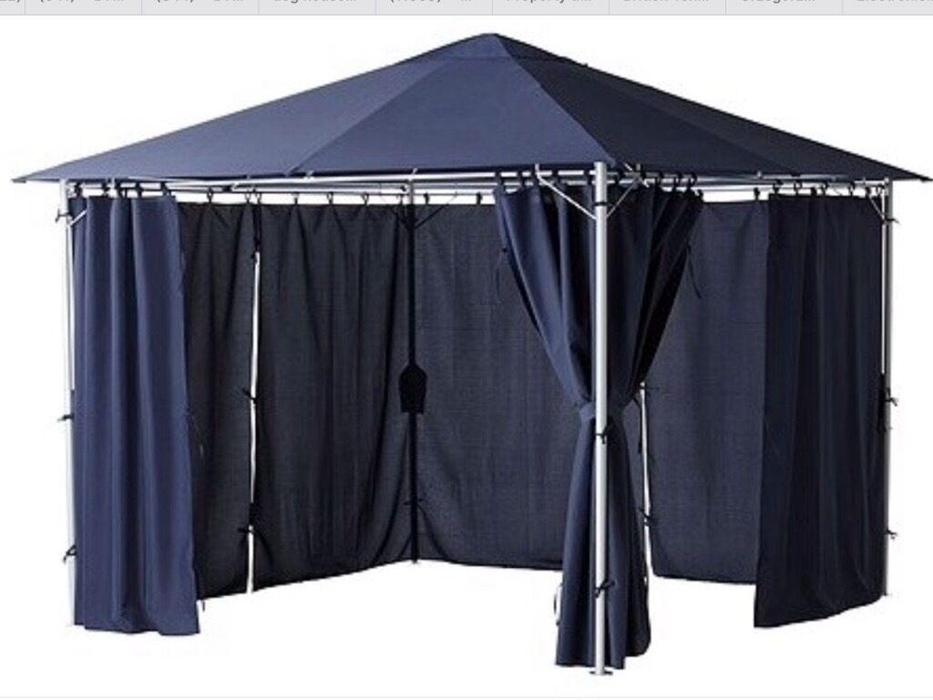 Ikea karlso navy blue gazebo 3m x 3m brand news in ruislip london gumtree - Gazebo ikea prezzi ...