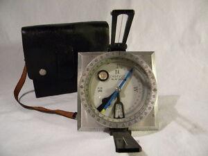 Rare-Charvoz-Survey-Artillery-Compass-56-0628-Japan