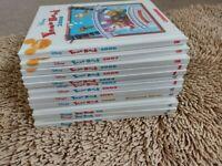 13 Disney Year Books years 1996-2008