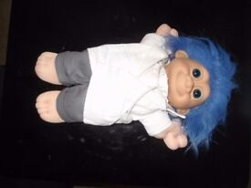 """Troll Doll 11"""" Russ Plush Soft Body Doctor Troll"""