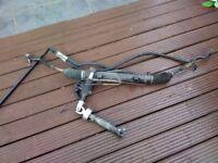 BMW e46 M Sport steering rack purple tag