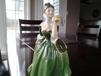 Royal Doulton bone china figurine Fleur