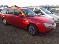 FORD MONDEO TDCI 2.0 DIESEL ESTATE, 207, FULL MOT , HISTORY RADIANT RED, EX COND , £1195 ONO