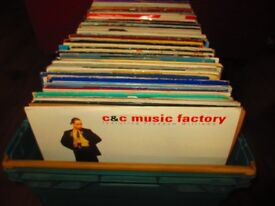 "APPROX 200 x 12"" SINGLES , Vinyl records Collection Joblot SOME RARE?"