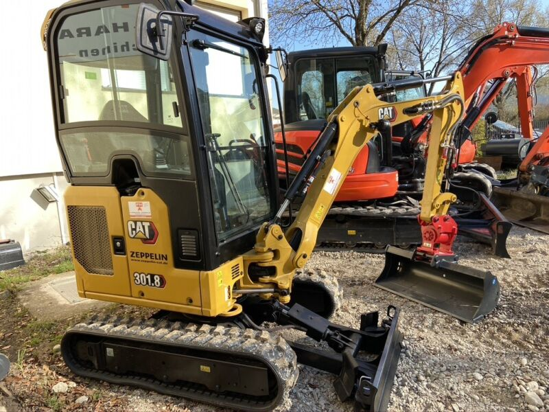 CAT 301.8 KLIMA -POWERTILT -MS01