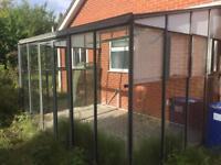 Powder coated baco conservatory