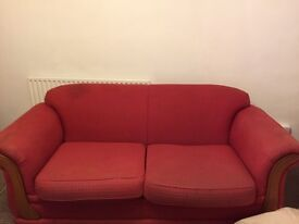 FREE 3 seater sofa & 2 armchairs. Must be collected between 2nd-5th October