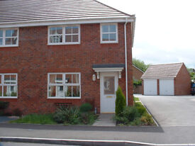 Modern 3 Bedroom End Terrace House with Garage in Station Road, Alcester £830 pcm