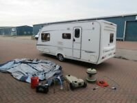 Abbey GTS Vogue 2005 year,4 berth L-shape,Mover,Awning,cris,hpi clear,very clean,tested,dry